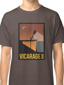 Stadium Art - Vicarage Road Silhouette Classic T-Shirt
