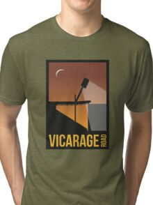 Stadium Art - Vicarage Road Silhouette Tri-blend T-Shirt