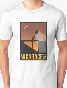 Stadium Art - Vicarage Road Silhouette Unisex T-Shirt