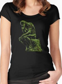 The Swamp Thinker Women's Fitted Scoop T-Shirt
