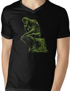 The Swamp Thinker Mens V-Neck T-Shirt