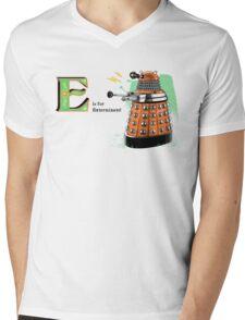 The Alphadalek Mens V-Neck T-Shirt