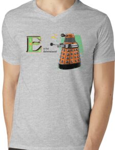 The Alphadalek Mens V-Neck T-Shirt