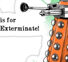 The Alphadalek Sticker