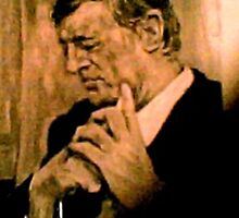 William F. Buckley, Jr    1925 - 2008 by Barbara Sparhawk