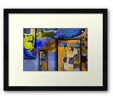 Maps of the World Framed Print