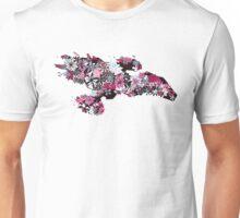 Flowerfly (white variant) Unisex T-Shirt