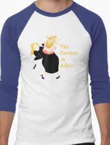 The Farmer in Adele Men's Baseball ¾ T-Shirt