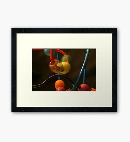 Movin On Framed Print