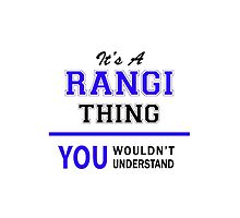 It's a RANGI thing, you wouldn't understand !! by thestarmaker