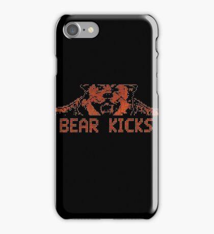 BEAR KICKS iPhone Case/Skin