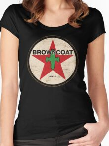 Vintage Browncoat Women's Fitted Scoop T-Shirt