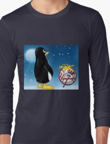 Penguin Relief Long Sleeve T-Shirt