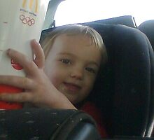 Hayli with McDonalds cup by Sarah Stults
