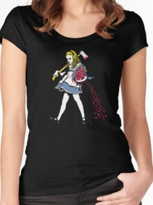 Off With Her Head Women's Fitted Scoop T-Shirt