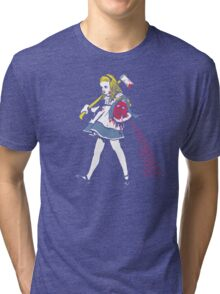Off With Her Head Tri-blend T-Shirt