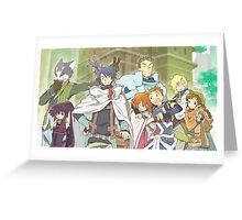 log horizon guild Greeting Card