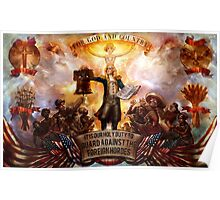 Bioshock infinite: For God and Country Poster