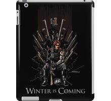 WinterS Coming iPad Case/Skin