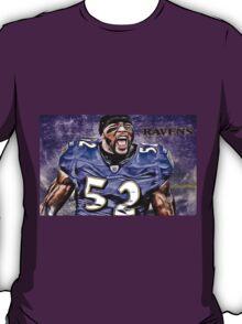 NFL Baltimore Ravens Legend Ray Lewis T-Shirt