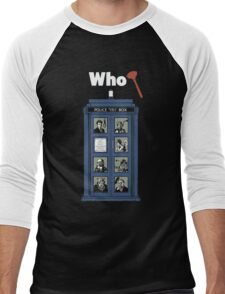 Who Dunnit? Men's Baseball ¾ T-Shirt