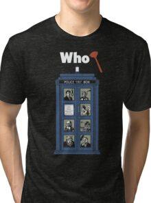 Who Dunnit? Tri-blend T-Shirt