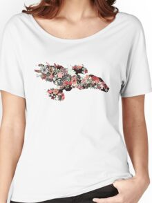 Flowerfly Women's Relaxed Fit T-Shirt