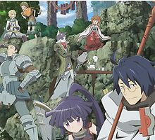 log horizon shiroe guild by Spikeynator