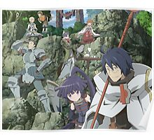 log horizon shiroe guild Poster