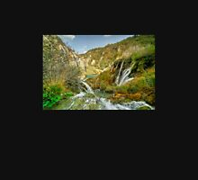 Plitvice Waterfall  Unisex T-Shirt