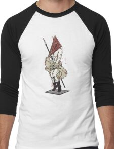 The Silent Itch Men's Baseball ¾ T-Shirt