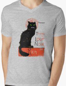 Loup Noir Mens V-Neck T-Shirt