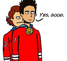 Seabs and Duncs Gold Medal Party by seabsbiscuit
