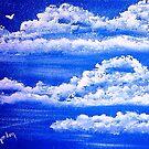 Fluffy Clouds by WhiteDove Studio kj gordon