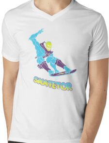 Skatetor Mens V-Neck T-Shirt