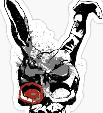 Target Mascot Sticker