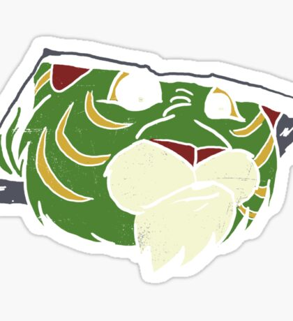 Ceiling Tiger Sticker