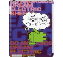do androids dream electric sheep? iPad Case/Skin