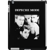 Depeche Mode : Single 81-85 Black - Paint B&W - With name iPad Case/Skin