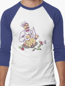 Pork Pork Pork Men's Baseball ¾ T-Shirt