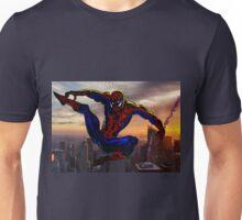 City Web Slinging Unisex T-Shirt