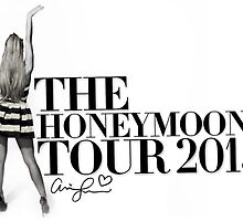 The Honeymoon Tour w/ Ariana (Shade White Only) by GenesisDesigns