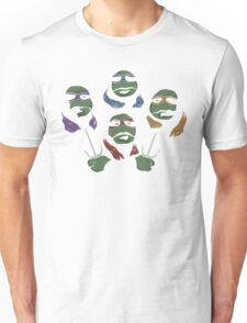 Ninja Rhapsody (multi colors) Unisex T-Shirt