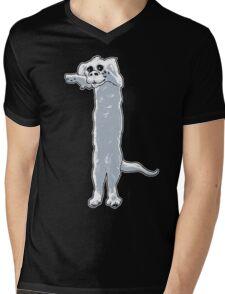 Long Dragon Mens V-Neck T-Shirt