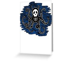 octopus bones Greeting Card