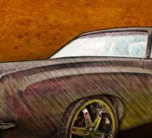 Chevy Monte Carlo Poster Sticker