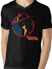 Travel Agent Mens V-Neck T-Shirt