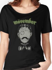 Mövember Head Women's Relaxed Fit T-Shirt