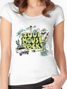 Zuul House Rock Women's Fitted Scoop T-Shirt