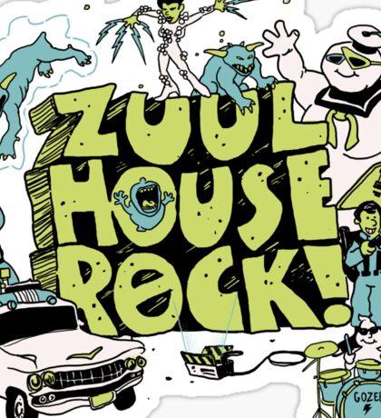 Zuul House Rock Sticker